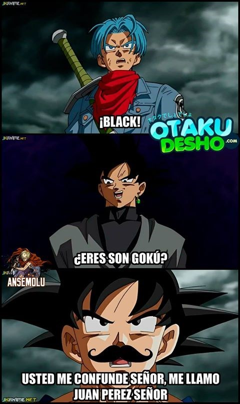 goku negro
