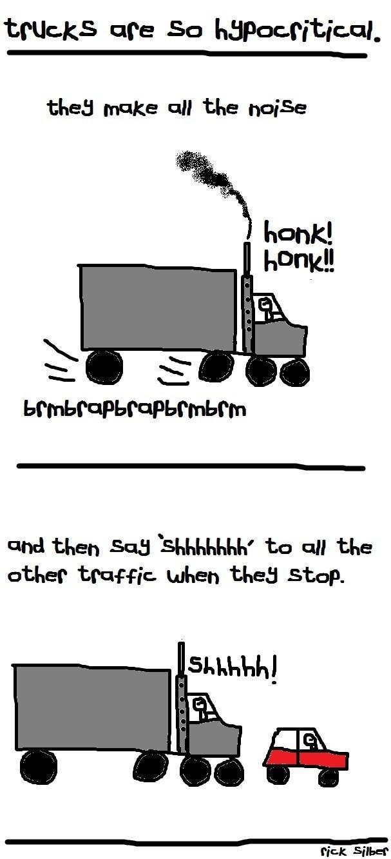 Why Do Trucks Gotta Be so Dang Inconsiderate