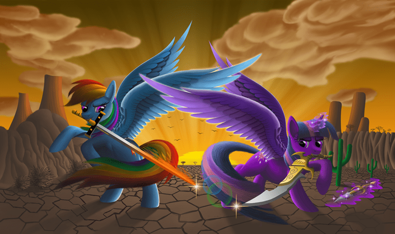 twilight sparkle rainbow dash - 8812948480