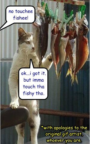 just a little touchee fishy?