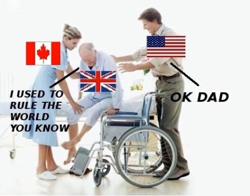 Canada great britain united states england parenting meme dad america