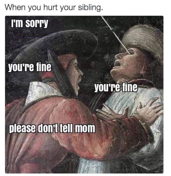siblings parenting Memes mom - 8813102080