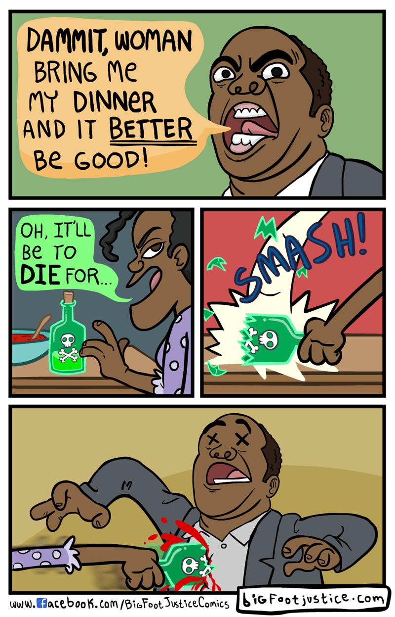 poison dark humor web comics - 8813218560