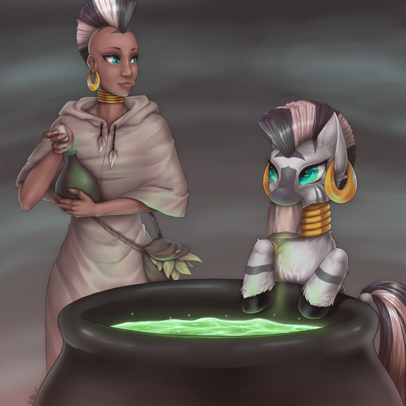 humanized zecora