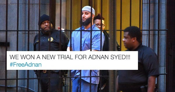 serial news trial Adnan Syed Just Won a Retrial So We May Actually Find Out the Mystery Behind the Serial Podcast