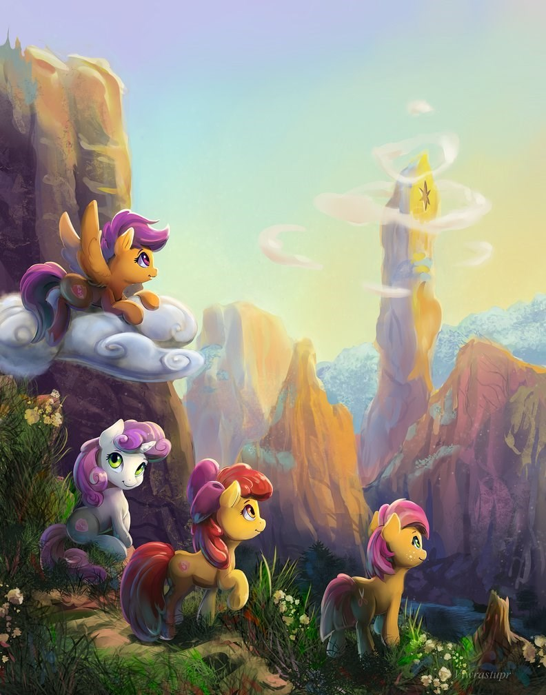 Sweetie Belle,apple bloom,babs seed,Scootaloo