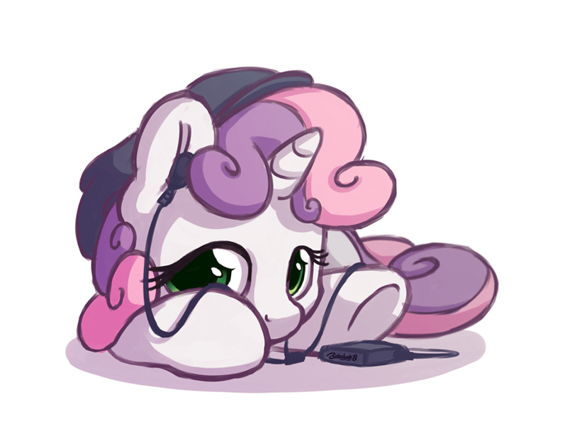 mp3 player,Sweetie Belle