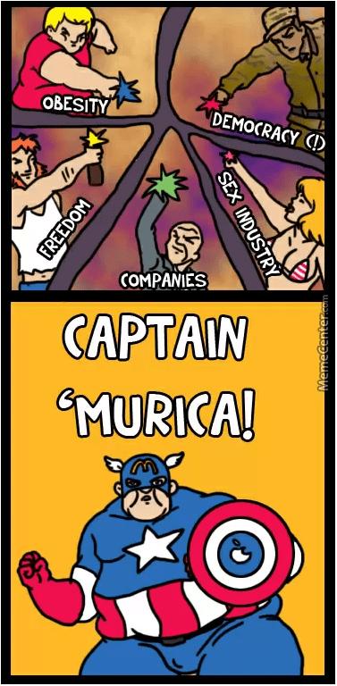 murica captain america - 8814206720