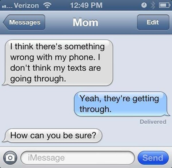 FAIL text technology parenting