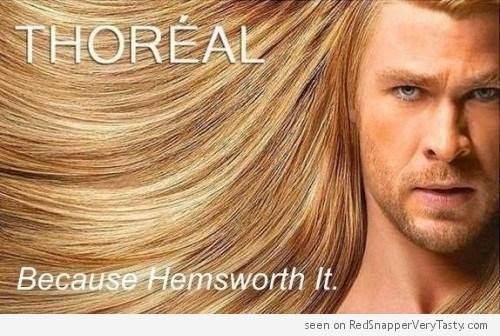 image hair puns Thor - 8814964736