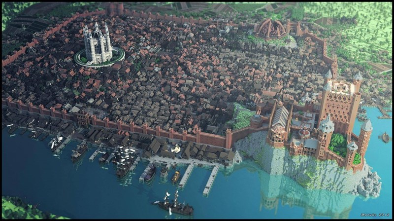 King's Landing Rendered in Minecraft Is a Sight for Sore F**king Eyes, Man