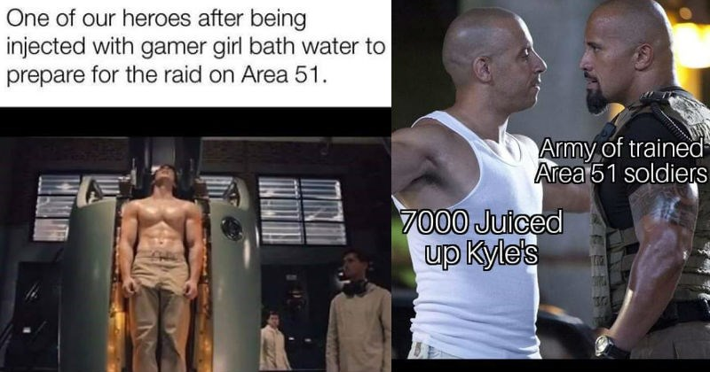 The best Storm Area 51 Memes