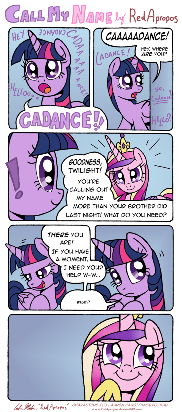 princess cadence twilight sparkle shining armor comic - 8816166912