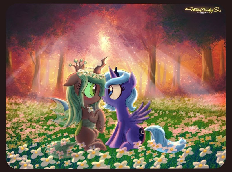 Luna Meets a Changeling