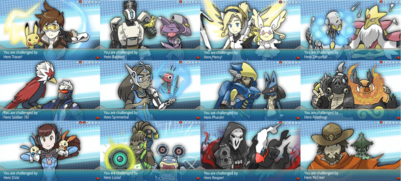 overwatch crossover Pokémon - 8816285696