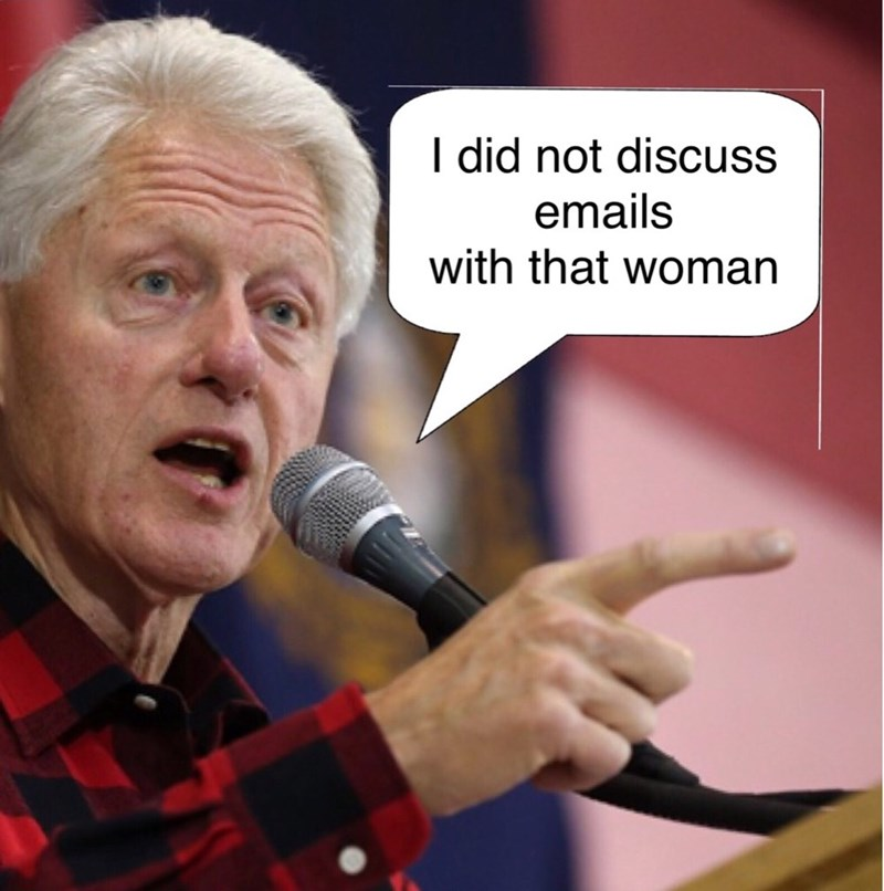 Democrat potus bill clinton