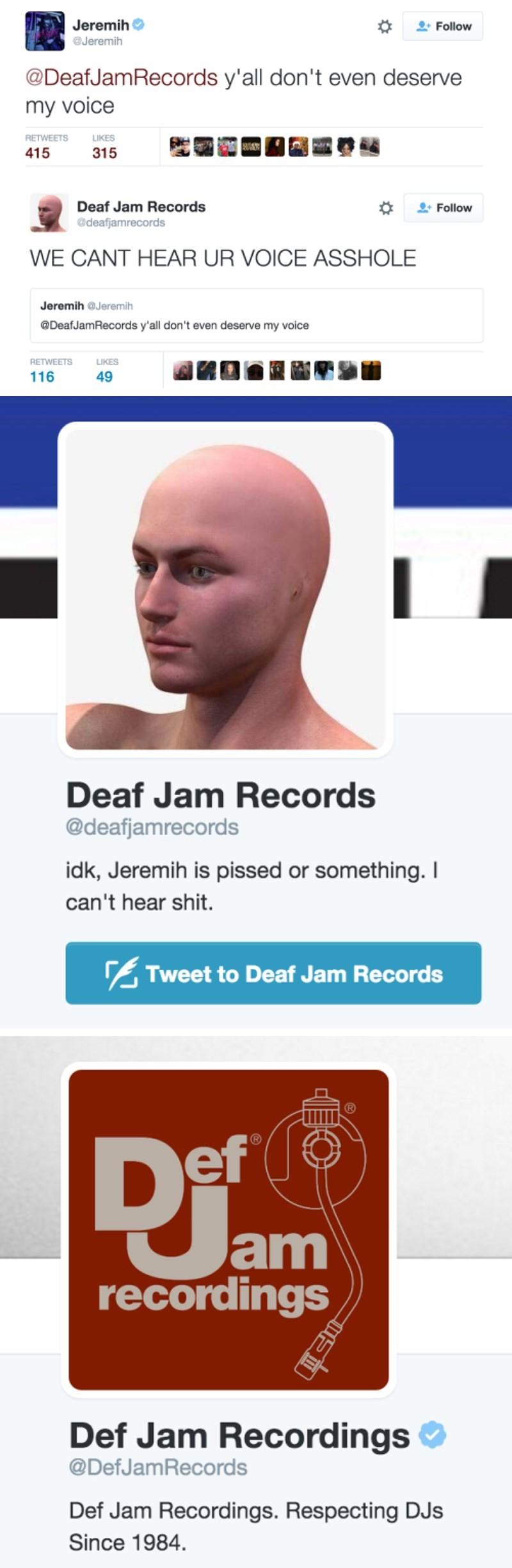 Music,twitter,trolling