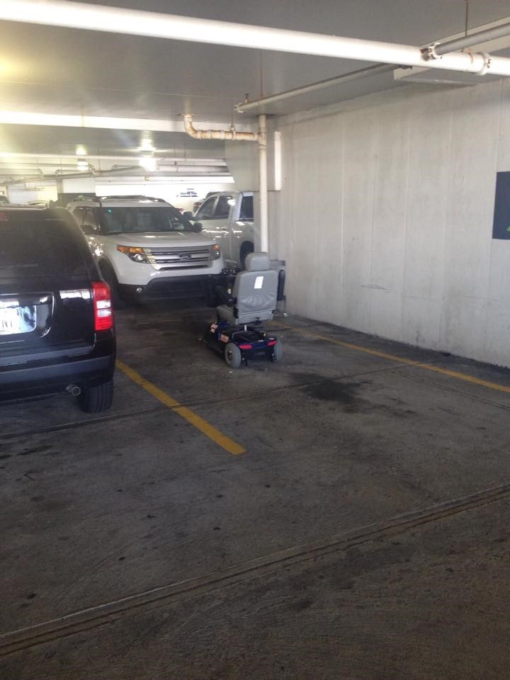 chair,FAIL,parking