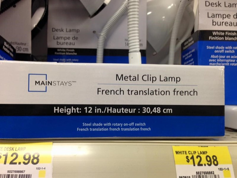 packaging,FAIL,translation,french