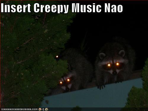 Insert Creepy Music Nao - Cheezburger - Funny Memes | Funny