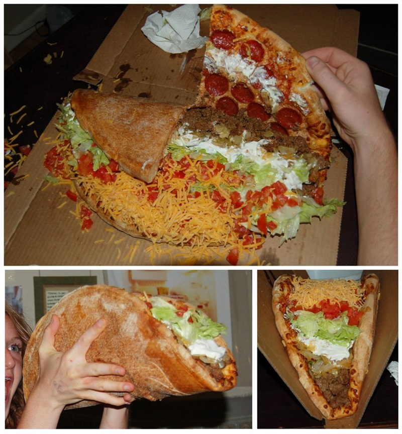 mashup pizza taco food win