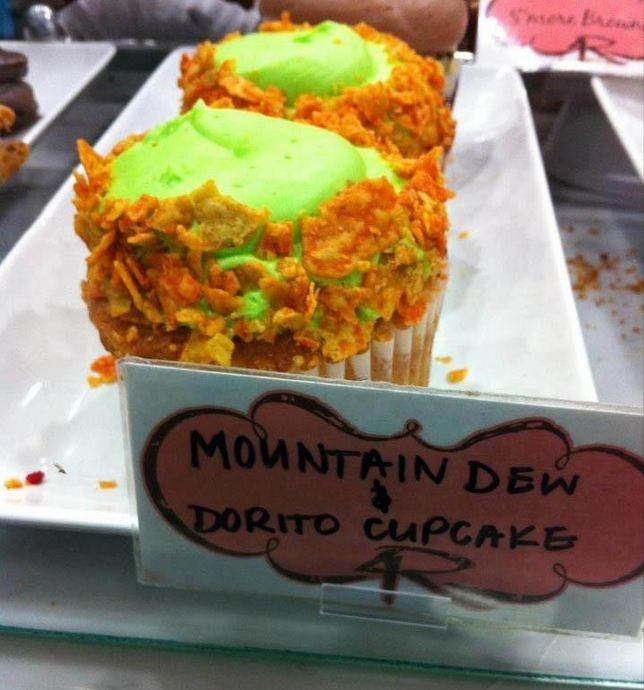 gamers doritos cupcakes food - 8817787904