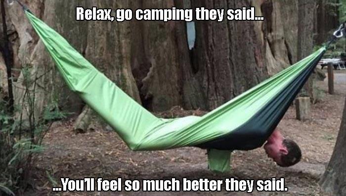 hammock FAIL camping - 8818058240
