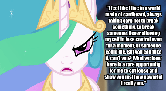 princess celestia,superman