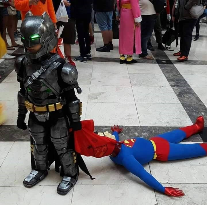 cosplay,kids,DC,superheroes,batman,funny,superman