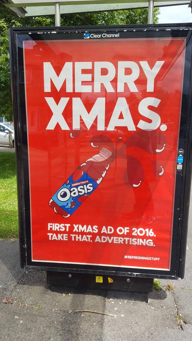 It's Not Even 'Christmas in July' Yet, Christ