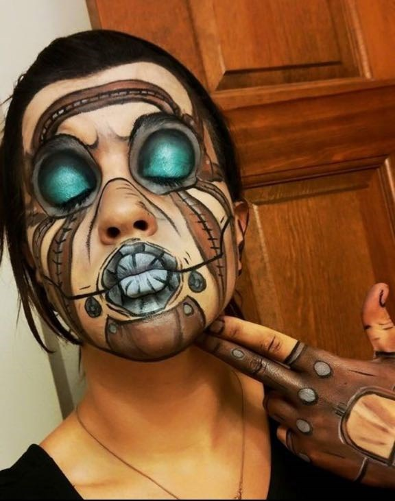 winning-psycho-borderlands-makeup