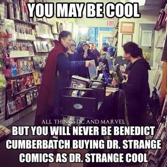 benedict cumberbatch marvel comics superheroes doctor strange funny - 8818781952