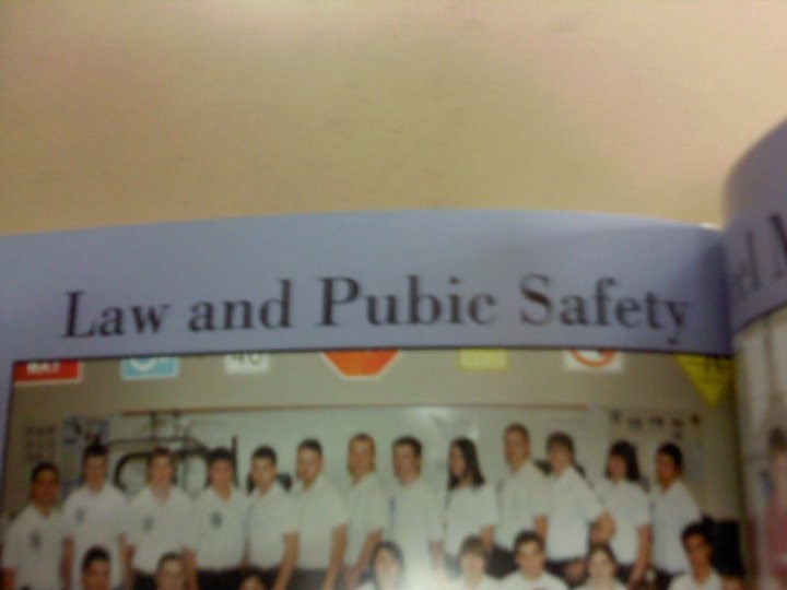 school FAIL yearbook spelling - 8818833408