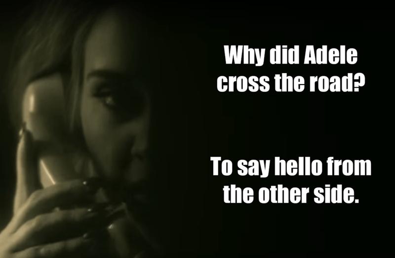 adele puns Memes - 8818849792