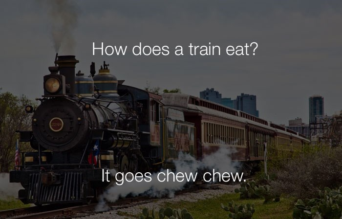 puns food trains image