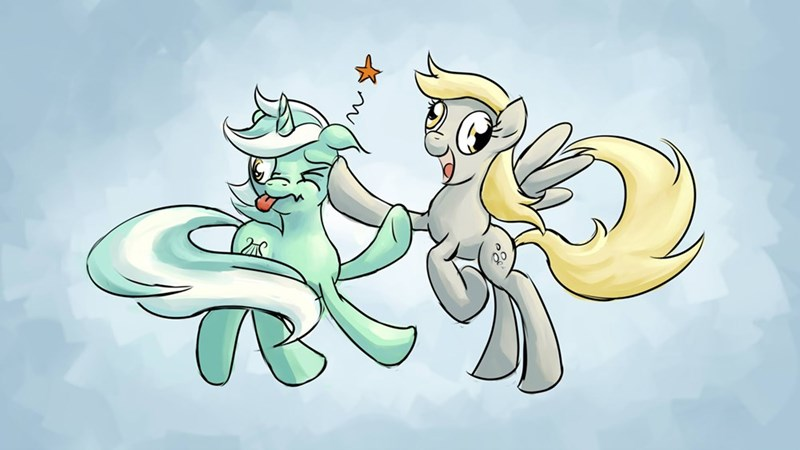 derpy hooves lyra heartstrings - 8818933248