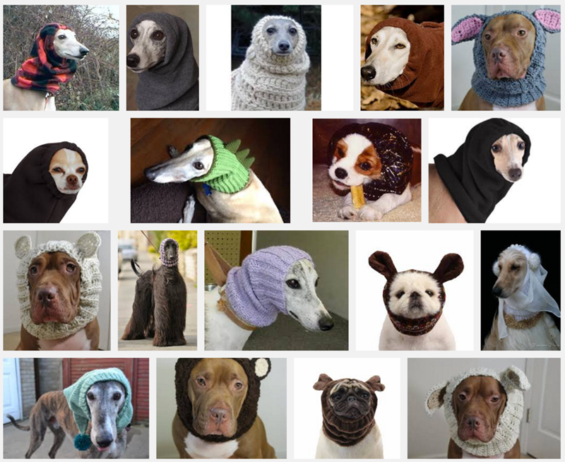 dogs snood - 8819203840