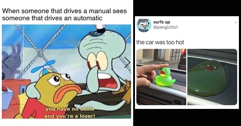 Funny memes about cars
