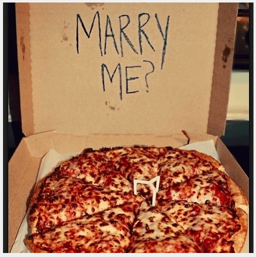 Pizza - MARRY ME?