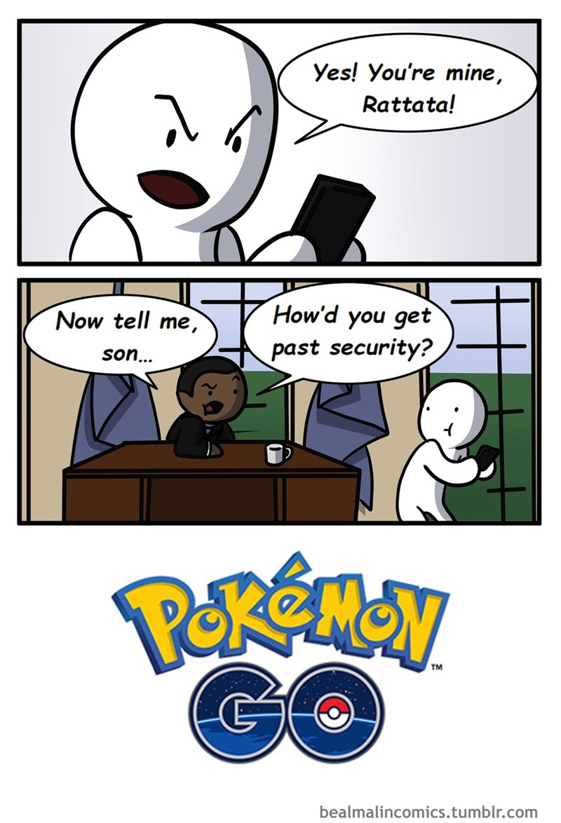 Pokémon pokemon go true story nintendo web comics - 8819331328