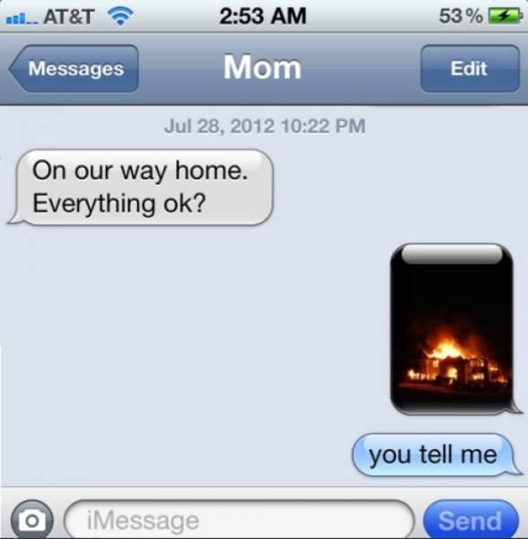FAIL parenting texting - 8819460096