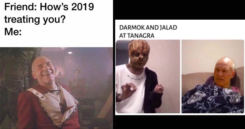 Funny Star Trek memes and posts