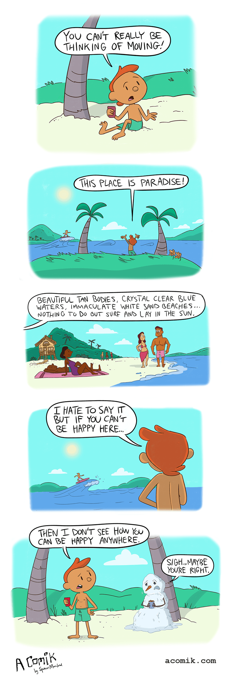 funny-web-comics-conversation-between-snowman-on-paradise