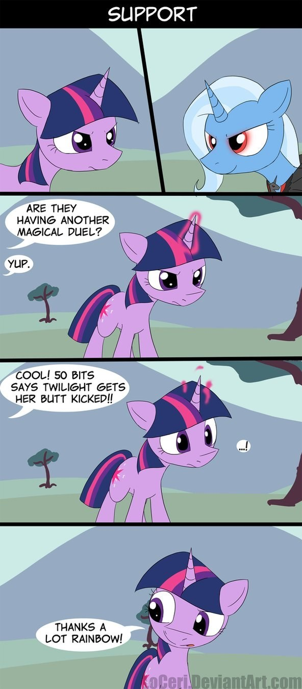 the great and powerful trixie magic duel twilight sparkle comic rainbow dash - 8819482112