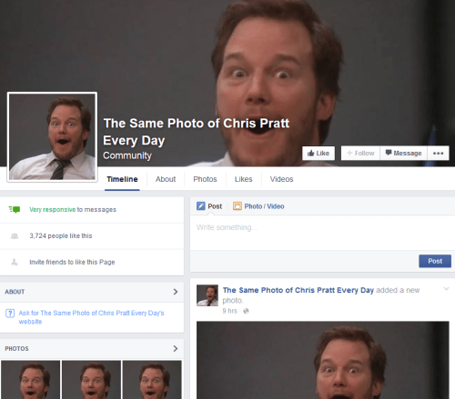 failbook facebook chris pratt - 8819504128