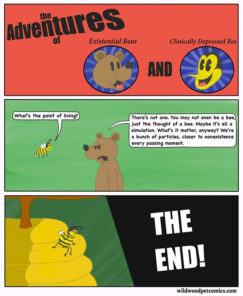 insects bears bees funny animals web comics - 8819518976