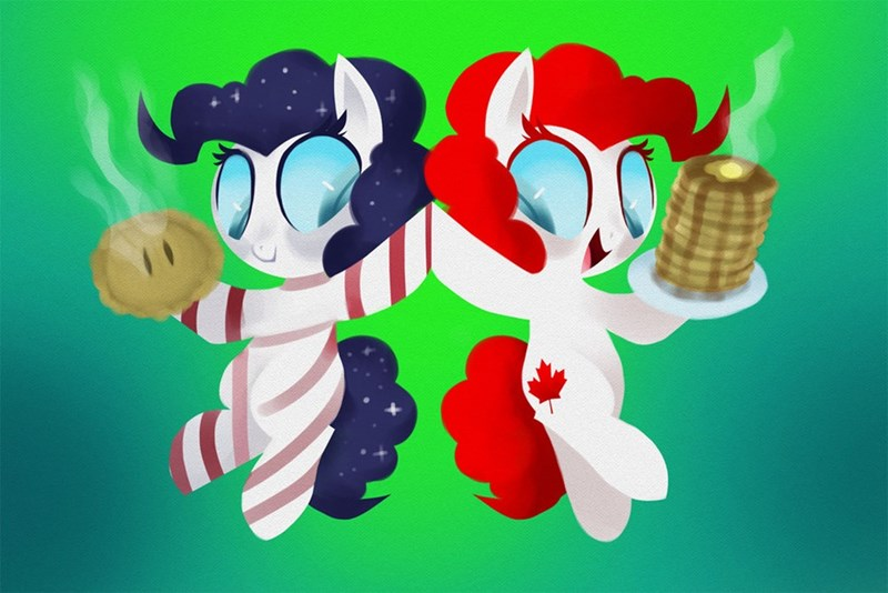 Canada pinkie pie america ponify - 8819543552