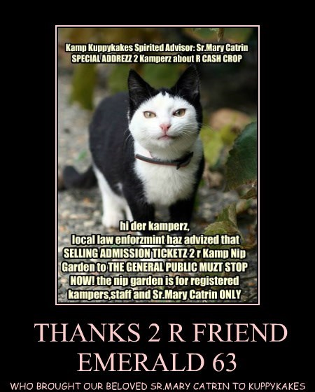 THANKS 2 R FRIEND EMERALD 63