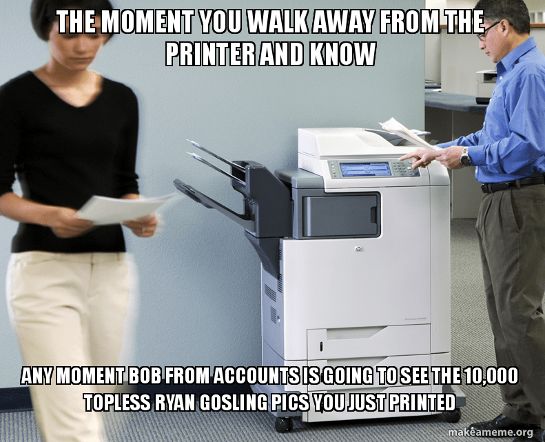 office supplies meme image
