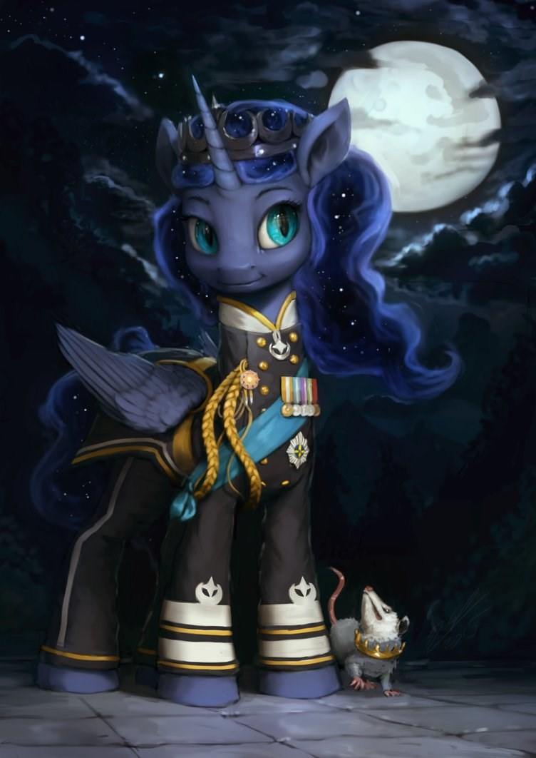 dress uniform princess luna IDW tiberius - 8820400128